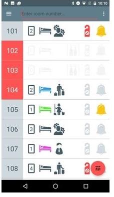 Aplikacija za sobarice