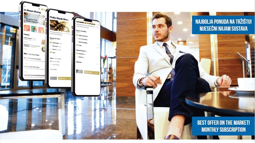 ZERO digitalna aplikacija za gosta