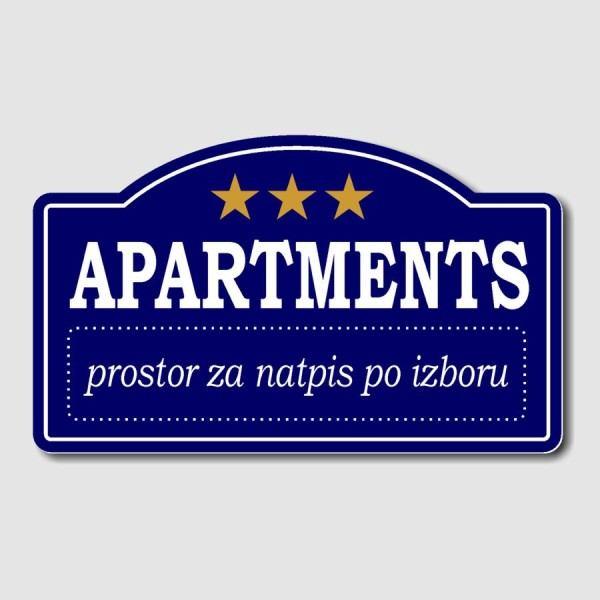 Natpisne ploče za apartmane/sobe